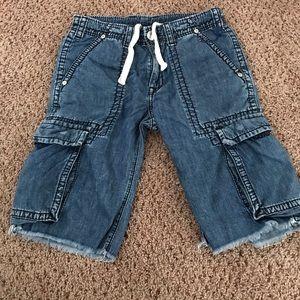 True Religion Cargo Shorts Size 30